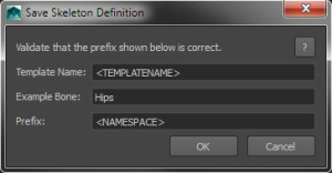 Save Definition File