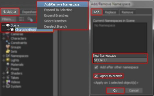 AddSourceNamespace