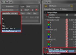 Plot Selected Custom Properties