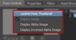 Pose Controls Update Thumbnail