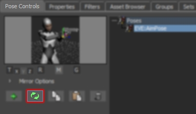 Pose Controls Update Pose