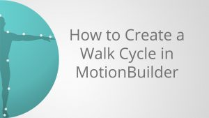 how to create walk cycle in motionBuilder