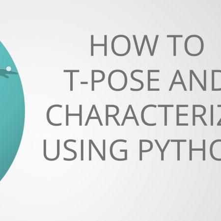 t-pose & Characterize MotionBuilder Python
